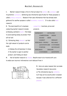 AQA GCSE Marketing - Fill in the Blank Worksheet