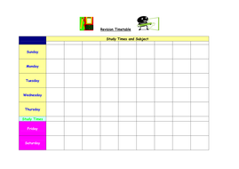 Revision Timetabling made simple!