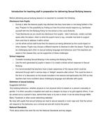 Teachers TV: KS3/4 PSHE - What is Sexual Bullying?