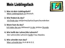 was heißt subject auf deutsch