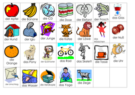 picture alphabet of nouns in german by rhawkes teaching resources