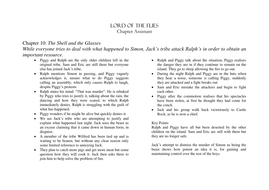 Lord of the Flies Chapter 10 Guide.doc