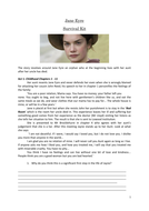 Charlotte Bronte's Jane Eyre:  ESL Study notes