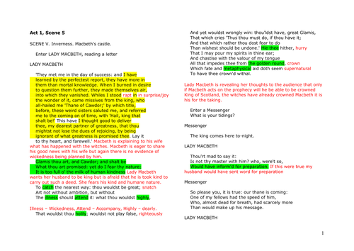 macbeth by emlynsarchive teaching resources tes