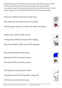 list of homophones and their meanings pdf