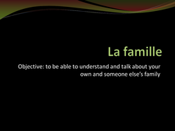 La_famille_-_HP_reading_and_thinking_skills.ppt