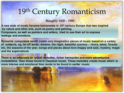 Higher Romanticism Topic