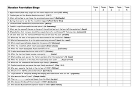 Russian Revolution Bingo questions and answer grid.doc