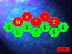 Mathbusters (BIDMAS) Game - powerpoint.