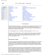 flight by doris lessing analysis