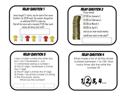 Maths relay races problem solving puzzles by aap03102 teaching relay 3pdf fandeluxe Images