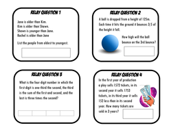 Maths relay races problem solving puzzles by aap03102 teaching relay 2pdf fandeluxe Images