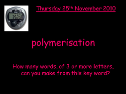 Making slime powerpoint polymers by rhianrebecca teaching making slime powerpoint polymers ccuart Image collections