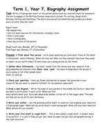 Ks Biography Essay Process By Cvbehrens  Teaching Resources  Tes Ks Biography Essay Process