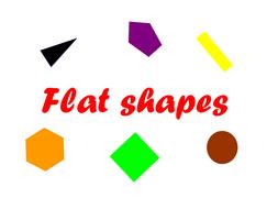 Recognising 2D shapes powerpoints