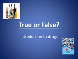 Drugs True/False Quiz (B1)