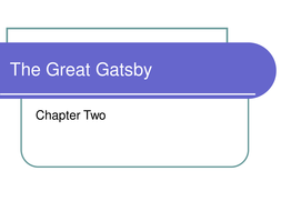 characterisation in the great gatsby