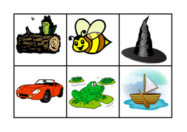 rhyming bingo and display by anon184 teaching resources tes