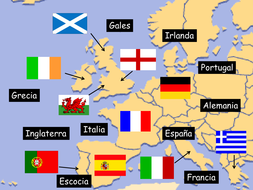 spanish european countries by purplejbeth teaching resources tes