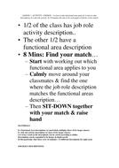 Functional Areas Kineasthetic starter Activity II.doc