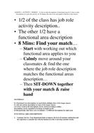 Functional Areas Kineasthetic starter Activity III -High Ability.doc