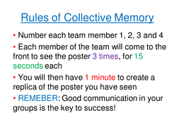 Collective Memory - Metric & Imperial Measures
