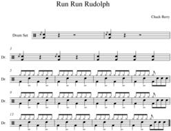 Run Run Rudolph DRUMS.bmp