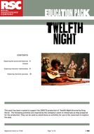 Twelfth Night: RSC Education Resources Pack