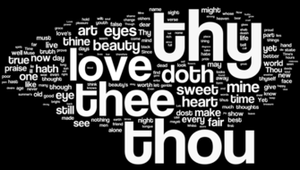 Shakespeare's Sonnets - Wordle