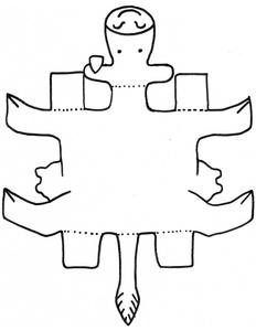 6x9 cut out template pdf