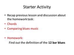 Blues lesson 3.ppt