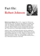 Robert Johnson fact file.docx