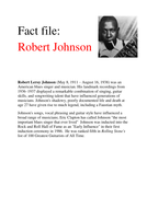 Robert_Johnson_fact_file.doc
