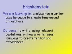 frankenstein chapter 5