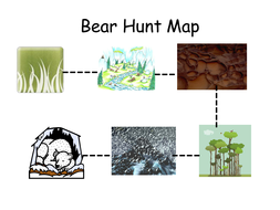 Bear Hunt Map | Teaching Resources