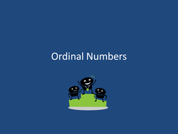 Ordinal Numbers.ppt