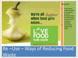 re using food ingredients powerpoint presentation by kathompson