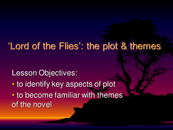 lord of the flies sow by nikkibrayne teaching resources tes intro to novel ppt 2