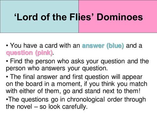 lord of the flies essay questions gcse In lord of the flies , william golding gives us a glimpse of the savagery that underlies even the most civilized human beings | my essay questions.