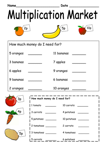 Multiplication Word Problems Y2 by katie3691 - Teaching Resources ...