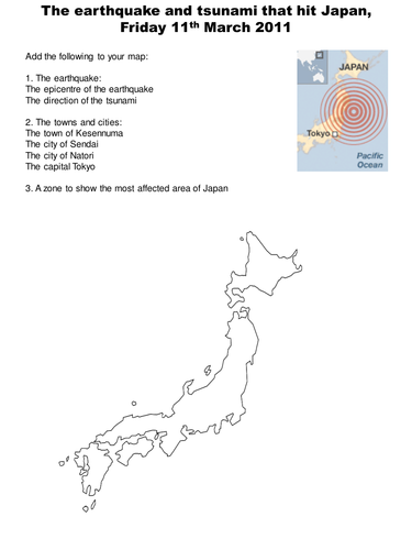 Earthquake and Tsunami in Japan 11 March 2011 by