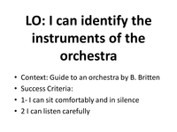 benjamin britten guide to an orchestra resources tes. Black Bedroom Furniture Sets. Home Design Ideas