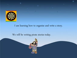 Pirate Story Powerpoint