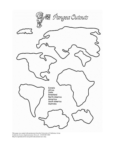 Printables Pangaea Worksheet pangea puzzle worksheet syndeomedia worksheets laurenpsyk free and