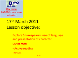 Tempest: Language Analysis in Act 1 Scene 2