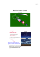 Particle Physics Revision Guide (AQA Unit 1)