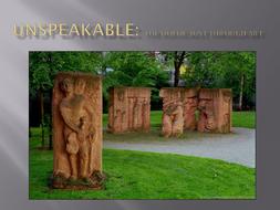 Unspeakable- Holocuast through art.ppt