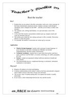 Teachers' Toolkit 20.doc