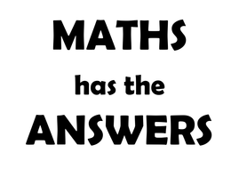 MATHS has the answers.docx