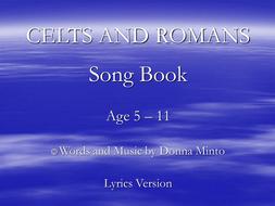 Celts and Romans with lyrics.ppt